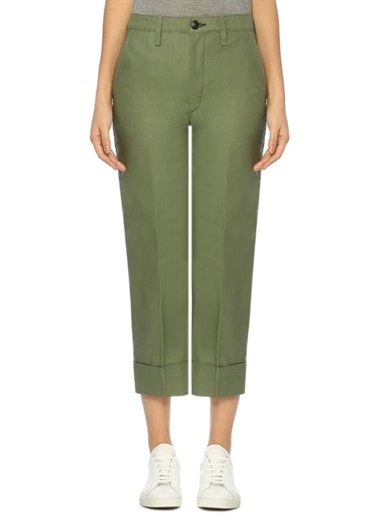 Rag&Bone Pantolon Yeşil